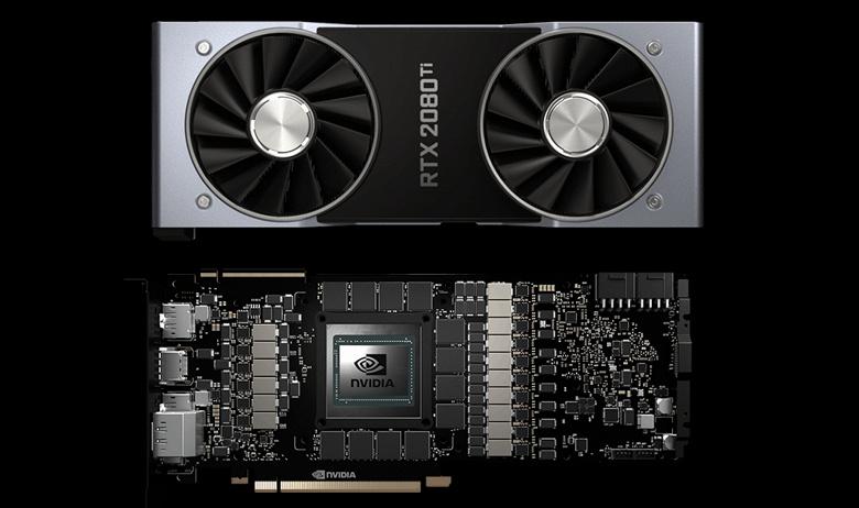 Видеокарты GeForce RTX 2080 Ti массово выходят из строя по